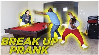 BREAK UP PRANK IN FRONT OF OUR  PARENTS   THE PRINCE FAMILY