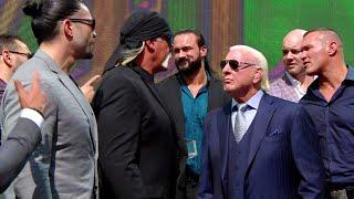 Team Flair and Team Hogan get fired up: Crown Jewel media event, Oct. 30, 2019