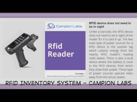 Rfid Inventory System - Campion Labs