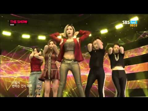 140923  Sugar Free- T ara @ The Show All About K pop