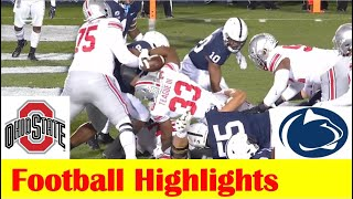 Ohio State vs Penn State Football Game Highlights 10 31 2020