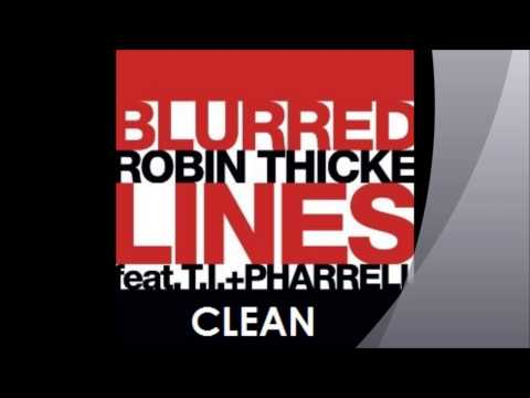 Baixar Robin Thicke- Blurred Lines (Clean)
