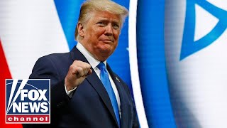 Trump delivers remarks at Israeli American Council National Summit