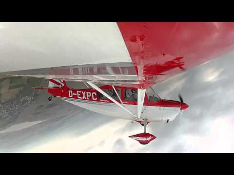 Super Decathlon Aerobatics (GoPro Hero2, 1080p)