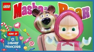 ♥ Masha and the Bear MASHA'S FAVORITE Compilation (Garden of Ice Cream, Forest Heroes....)