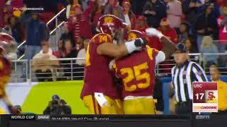 USC Football - Pac-12 Championship: USC 31, Stanford 28 - Highlights (12/1/17)