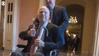 Sen. McCain returns to Arizona, will miss vote on GOP tax bill