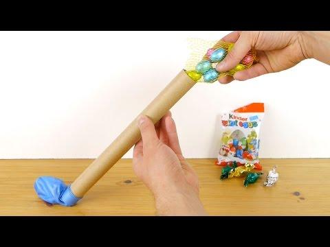 Човеков залепи конец околу балон, но гледајте што ќе се случи кога ќе го пукне