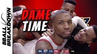 Damian Lillard Hits The Most Epic Game Winner In NBA History