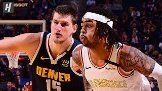 Denver Nuggets vs Golden State Warriors  - Game Highlights | January 16, 2020 | 2019-20 NBA Season