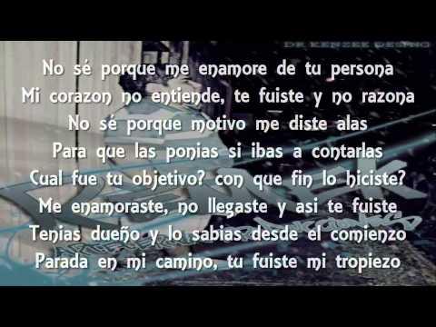 Alee Alejandro Ft. Remek - Porque me enamore de ti (Letra)
