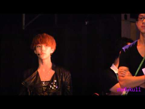 [HD][FANCAM]120713 EXO-K Sehun - backstage