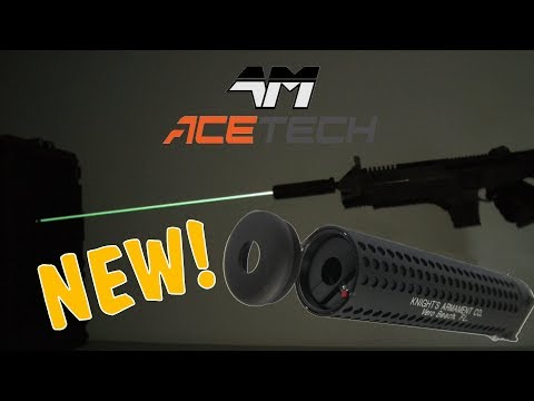 video AceTech Predator Tracer Unit LED Glow in Dark BB Airsoft 6mm Rifle Attachment