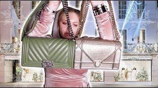 Chanel Boy Bag vs. Dior Diorama - How To Choose Chanel or Dior -Cost, Capacity, Aesthetic, Quality +