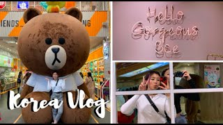 Flight to Seoul, Airbnb and Exploring Myeongdong // South Korea Vlog Part 1