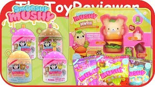Smooshy Mushy Bentos Blind Bags Do-Dat Donuts Series 2 Squish Unboxing Toy Review by TheToyReviewer