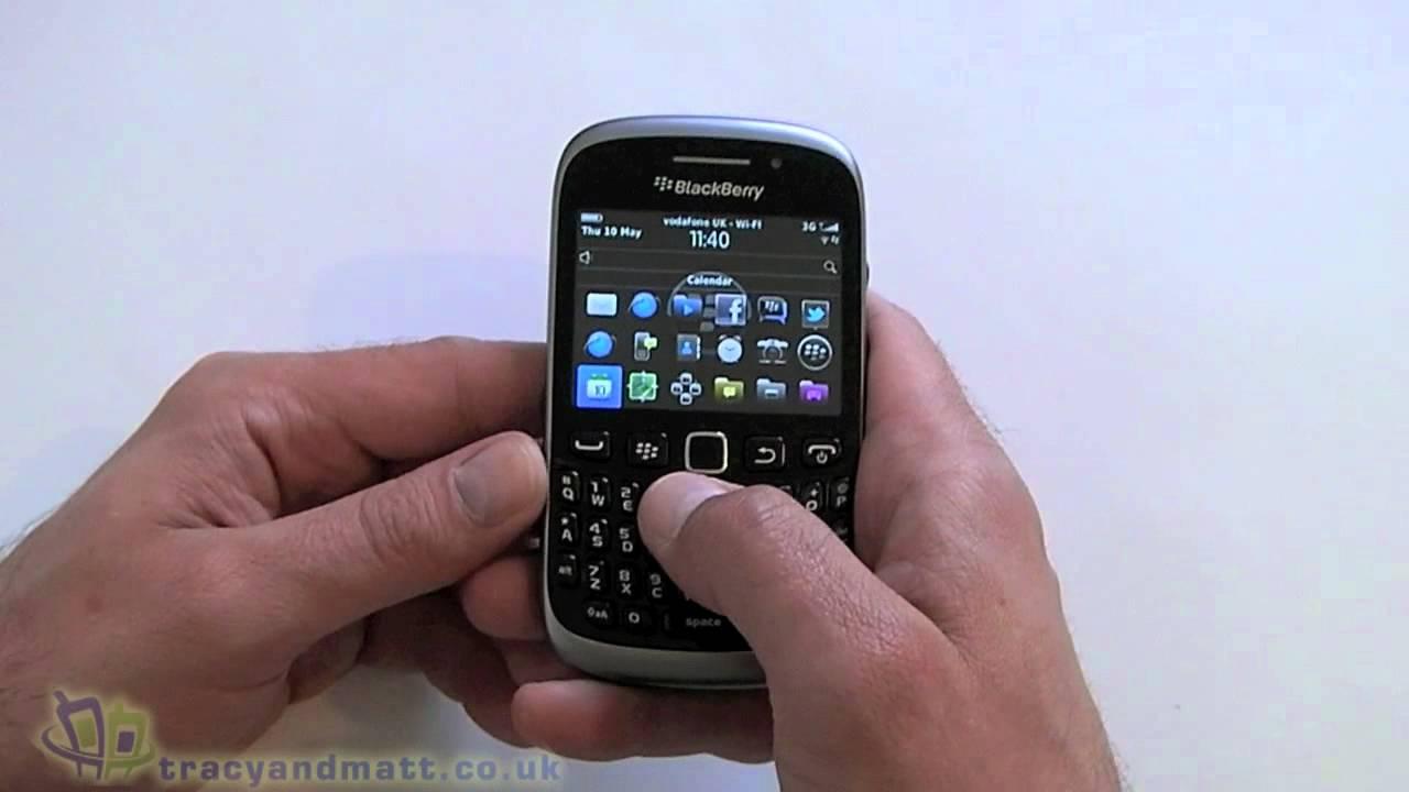 Blackberry Curve Demonstration @ cytevy24 :: 痞客邦::