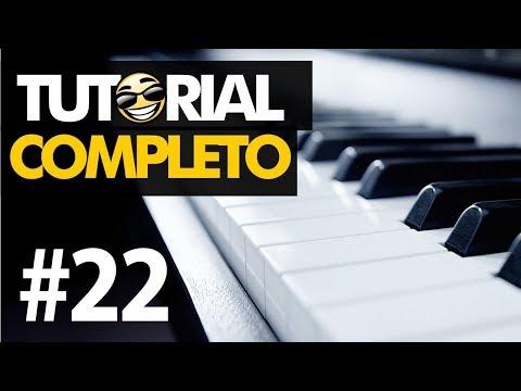 #22 Como fazer fundo de oração   Tutorial no Teclado