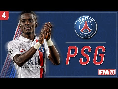 TOP OF THE TABLE CLASH! FOOTBALL MANAGER 2020: Paris Saint-Germain #4