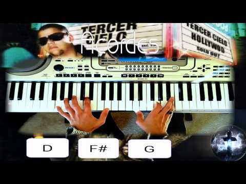 Tercer Cielo-Yo Te Extranare/Piano Tutorial(HD)