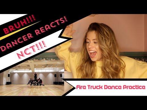 NCT 127 엔시티 127 '소방차 (Fire Truck)' Dance Practice - DANCER REACTS!
