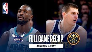 Full Game Recap: Hornets vs Nuggets | Dunk Fest In The Mile High City