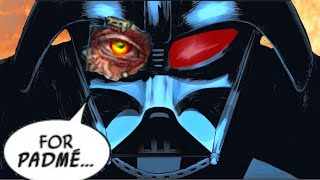 DARTH VADER FINALLY ADMITS HE REGRETS BECOMING A SITH(Canon) - Star Wars Comic Explained