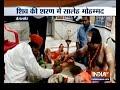 Rajasthan Minister Saleh Mohammad Prays At Shiva Temple In Pokhran