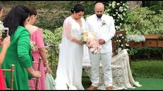 LOTLOT De Leon & FADI El Soury WEDDING at El JARDIN de ZAIDA!