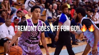 Tremont Waters DROPS 60 in PRO-AM GAME!!😱LSU PG puts on a SHOW!