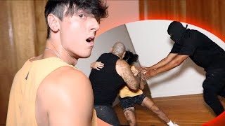 I Fought my House Intruders..