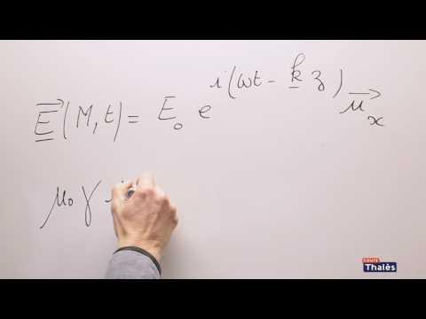 Équations de Maxwell dans un métal - électromagnétisme maths spé 4 sur 5