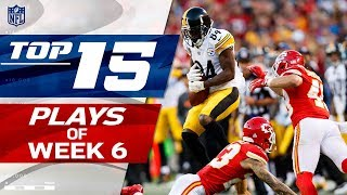 Top 15 Plays of Week 6 | NFL Highlights