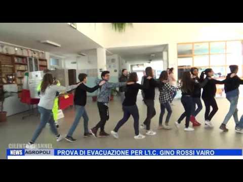 AGROPOLI PROVA DI EVACUAZIONE PER L I C GINO ROSSI VAIRO