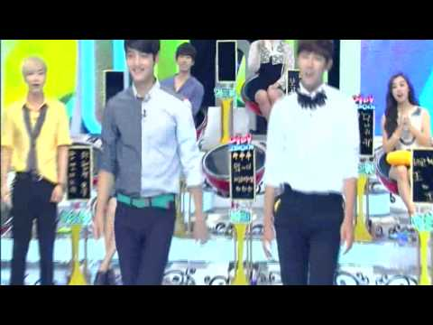 [120821] Minho & Kwanghee Cat Walk Model