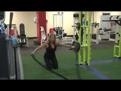 Battling Ropes Exercise  Demonstration - Healthplex Fitness & Personal Training