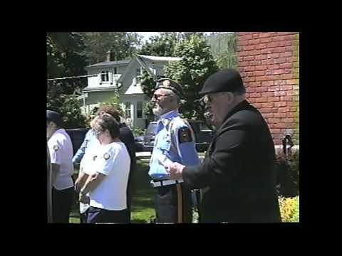 Legion Post 912 Memorial Day  5-31-04