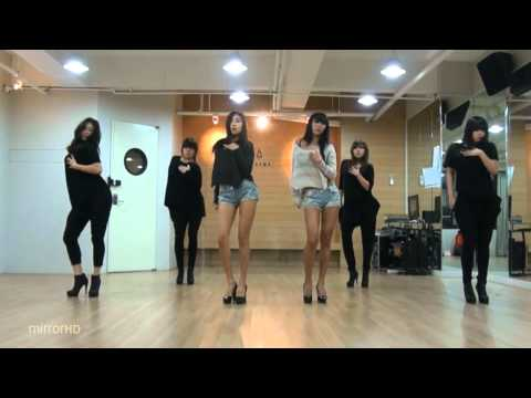SISTAR19 'Gone Not Around Any Longer' mirrored Dance Practice.