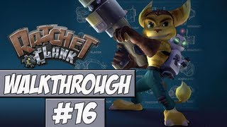 Ratchet And Clank Walkthrough Ep.16 w/Angel - Your Going Down Quark!
