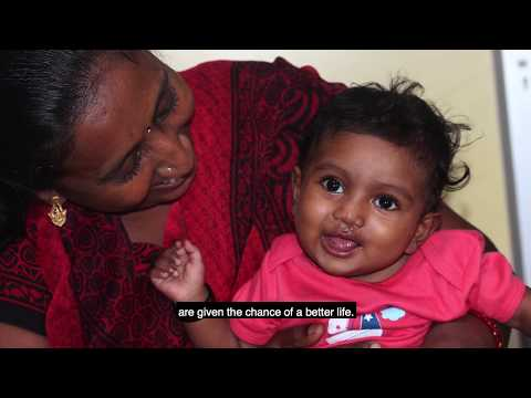 Meet Jaya - our first GSK Smile Train baby
