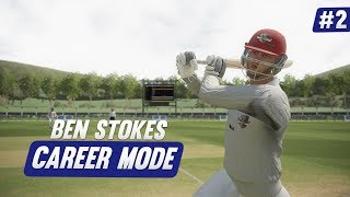 BRILLIANT BATTING! - Ashes Cricket | Ben Stokes Career Mode #2