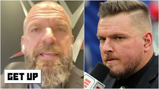 Triple H: Adam Cole is challenging Pat McAfee to a 1-on-1 match at WWE NXT TakeOver XXX   Get Up