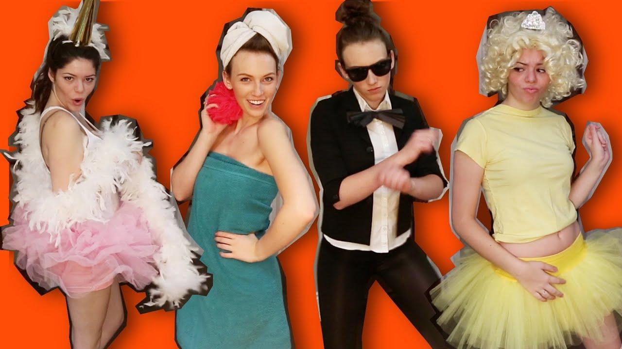 Creative Costume Ideas: 15+ LAST MINUTE UNIQUE HALLOWEEN COSTUME IDEAS