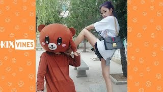 Funny videos 2018 ✦ Funny pranks try not to laugh challenge P27
