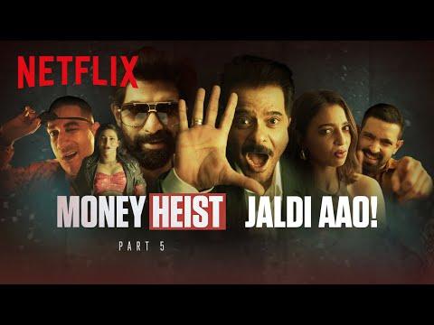 Money Heist anthem ft. Anil Kapoor, Rana Daggubati, Shruti Haasan, Hardik Pandya
