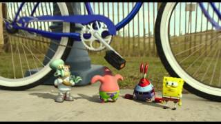 The SpongeBob Movie: Sponge Out of Water   Clip: Bicycle   Paramount Pictures International