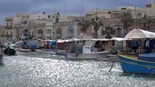 Malta, Sunday Market in Marsaxlokk