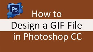 How to create a gif file in Adobe Photoshop CC | Photoshop Tutorials (Urdu/Hindi)