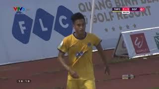 FLC Thanh Hóa chia điểm với Sài Gòn trong ngày ra mắt tân HLV  Tại vòng 7  V.League 2018,