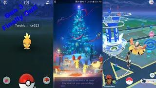 Pokemon Go Gen 3 Gameplay Part 1 ( Weather Effect Update )!